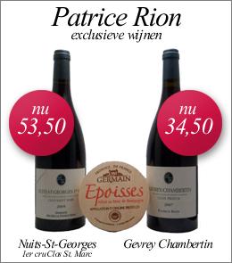 Aanbieding in de webshop Patrice Rion
